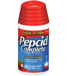 Pepcid Complete Acid Reducer + Antacid with Dual Action, Coo