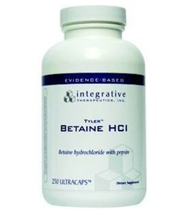 Integrative Therapeutics Betaine HCl, 250-Count