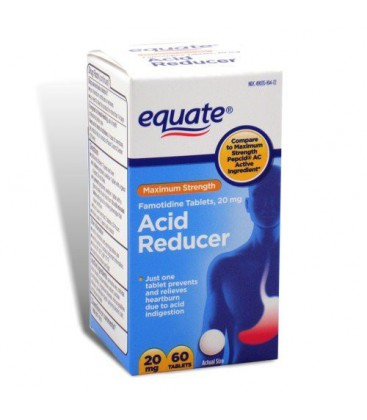 Equate Acid Controller, Maximum Strength 20mg, Tablets (Comp