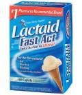 Lactaid Fast Act Lactase Enzyme Supplement, Caplets 60 each