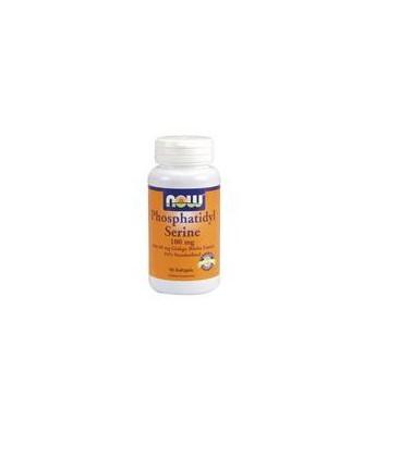 Now Foods Phosphatidyl Serine w/ Ginkgo Biloba Extract, 50 softgels ( Multi-Pack)