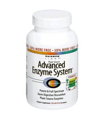 Rainbow Light Advanced Enzyme System  Plant-Source  Vcaps  1