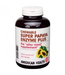 American Health Products - Super Papaya Enzyme Plus, 360 che