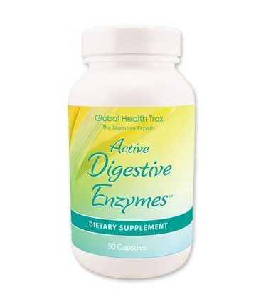Active Digestive Enzymes - ONE Bottle 90 Capsules per Bottle