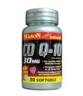 2 Pack Special of MASON NATURAL Q-10 CO-ENZYME 30MG SOFTGELS