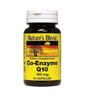 Co-Enzyme Q10 100 mg 30 Caps