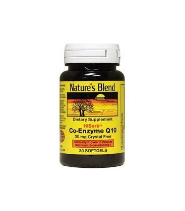 Co-Enzyme Q10 30 mg 30 Sgels