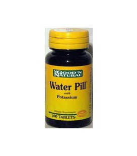 Good N Natural - Water Pill Natural Diuretic with Potassium