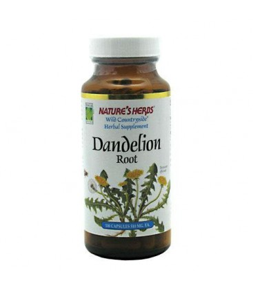 Twin Lab Nat Dandelion Root, 100-Count