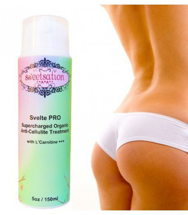 Svelte PRO Supercharged Organic Anti-Cellulite Treatment wit