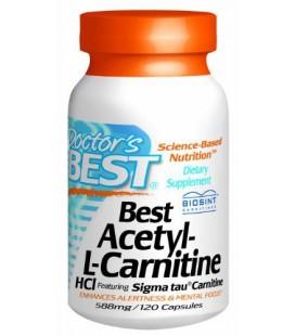 Doctor's Best Best Acetyl L-carnitine Featuring Sigma Tau Ca