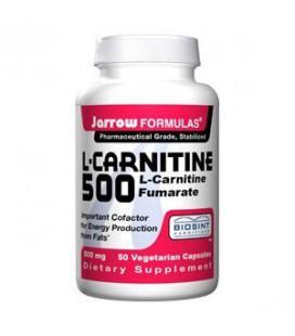 Jarrow Formulas L-Carnitine 500mg, 100 Capsules