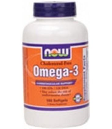 Omega-3 Cholesterol Free 180 Softgels