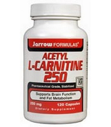 Jarrow Formulas Acetyl L-Carnitine 250mg, 120 Capsules