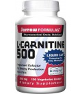 Jarrow Formulas L-Carnitine 500, 500mg, 100 Vegetarian Licap