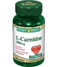 Nature's Bounty L-Carnitine 500mg, 30 Tablets (Pack of 2)