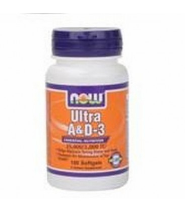Ultra A & D 25,000/1,000 IU - From Fish Liver Oil - 250 Softgels