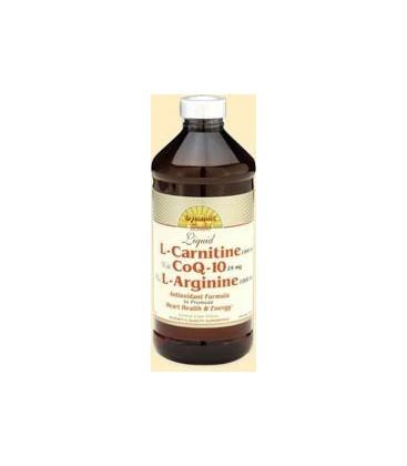 Dynamic Health L-carnitine with Coq-10 Plus L-arginine, 16-O