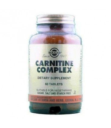 Carnitine Complex - Important for fat metabolism in cells, 6