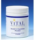 Vital Nutrients Acetyl L-Carnitine Powder - 100g Powder