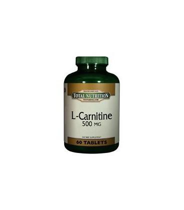 L Carnitine 500 Mg. - 60 Tablets