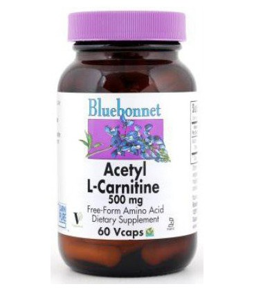 Acetyl L-Carnitine 500mg - 30 - Veg Cap