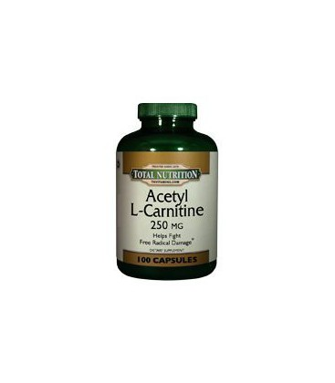 Acetyl L Carnitine 250 Mg. - 100 Capsules