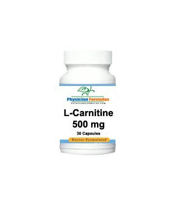 L-Carnitine Supplement 500 mg, 30 Capsules - Endorsed by Dr.
