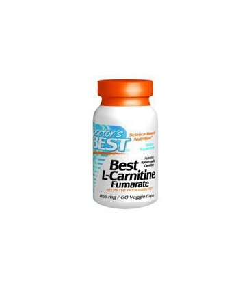 Doctor's Best - Best L-Carnitine, 500mg, 60 capsules