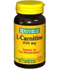 Good'N Natural - L-Carnitine 250 mg, 30 Caps