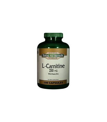 L Carnitine 250 Mg Capsules - 100 Capsules