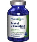 Physiologics - Acetyl L-Carnitine 1000 mg 30 caps