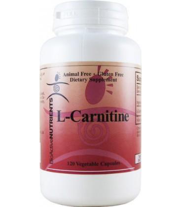BioActive Nutrients L-Carnitine 120 capsules