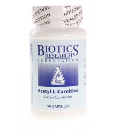 Biotics Research, Acetyl-L-Carnitine 90 Capsules