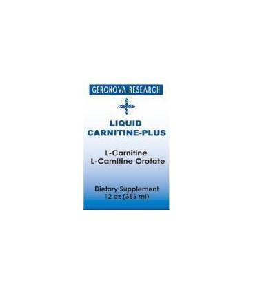 Carnitine Plus 12 oz by Geronova Research