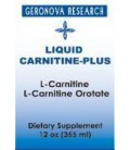 Carnitine Plus 12 oz by Geronova Research