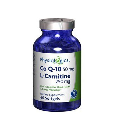 Coenzyme Q10 w/ L-Carnitine 60 Softgels by Physiologics