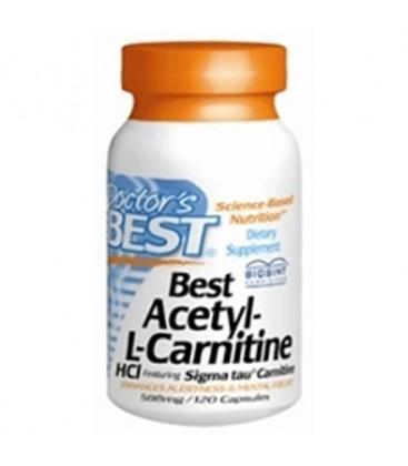 Dr's Best Acetyl L-Carnitine featuring Sigma Tau Carnitine (