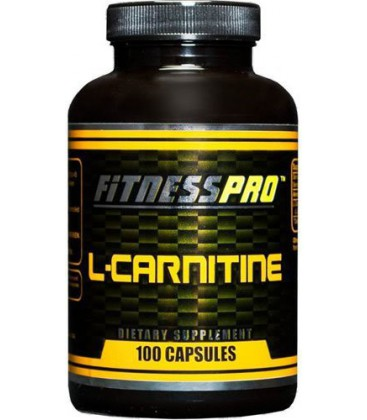 Fitness Pro Lab L-carnitine Capsules, 100-Count