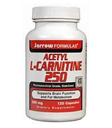 Jarrow Acetyl L-Carnitine 250mg, 120 caps (Multi-Pack)