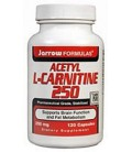 Jarrow Acetyl L-Carnitine 250mg, 120 caps (Multi-Pack)