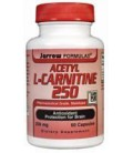 Jarrow Acetyl L-Carnitine 250mg, 60 caps ( Multi-Pack)