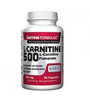 Jarrow L-Carnitine 500 g, 50 caps ( Multi-Pack)