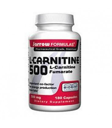 Jarrow L-Carnitine 500 mg, 180 caps ( Multi-Pack)