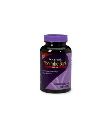 Yohimbe Natrol 500 mg 135 tabs