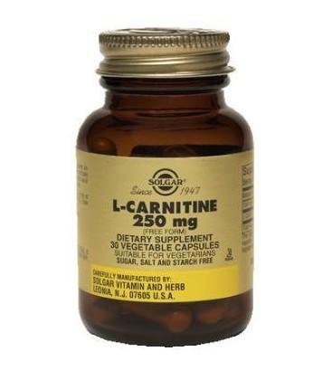 L-Carnitine 250mg - 30 - Veg/Cap
