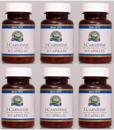 Naturessunshine l-Carnitine Amino Acid Supplement 30 Capsule