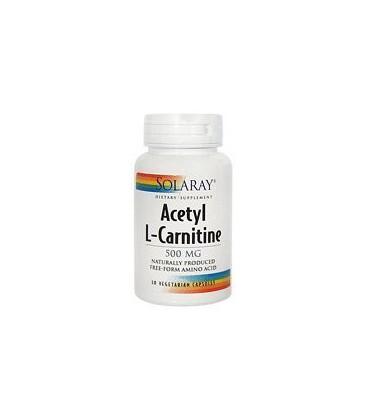 Solaray - Acetyl L-Carnitine - - 30 vegetarian capsules