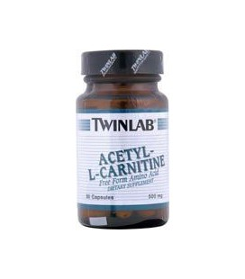 TwinLab - Acetyl-L-Carnitine, 500 mg, 30 capsules