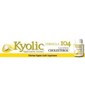 Kyolic Garlic Formula 104 Cholesterol (300 Capsules)